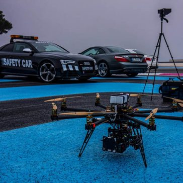 mercedes amg drone cinecopter