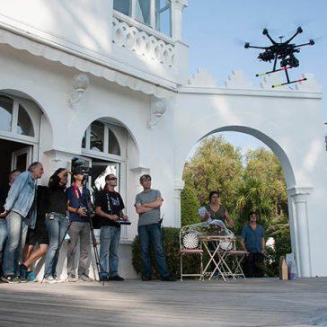 Section de recherches drone