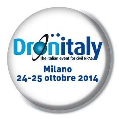 Flying Eye exposera au salon Dronitaly du 24 au 25 Octobre à Milan!