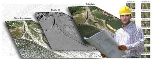 formation photogrammétrie thermographie par drone