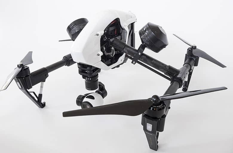 Flying Eye première société à homologuer le DJI INSPIRE 1 en S3