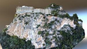 Modélisation 3D d'une falaise pour relevé topographique