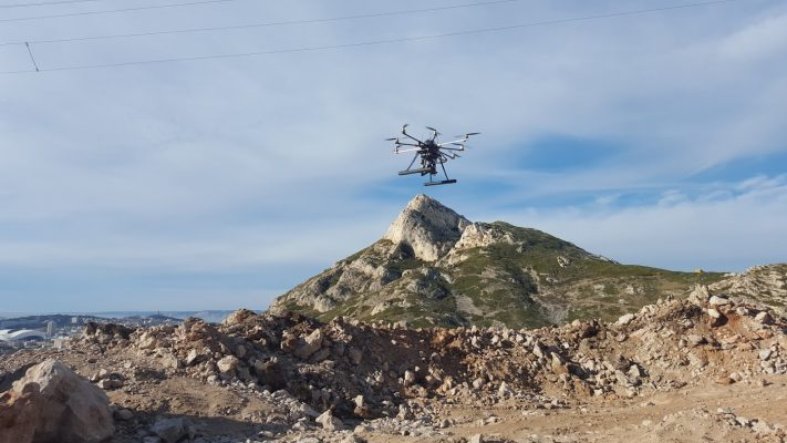 Carriere drone