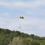 Parachute + coupe-circuit (drone 6kg)