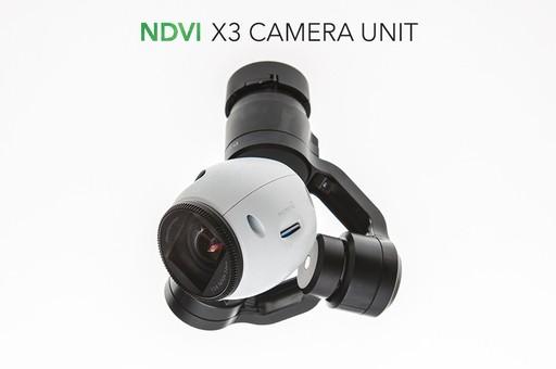 X3 camera NDVI