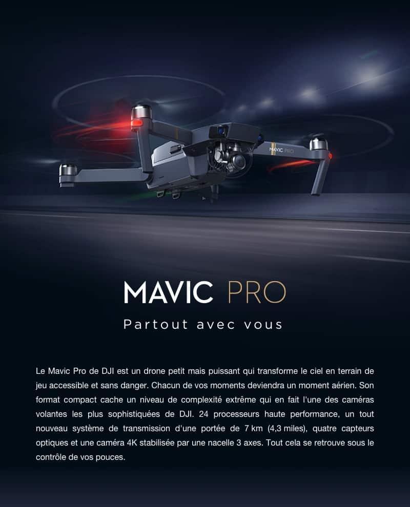 polyvalence du Mavic Pro