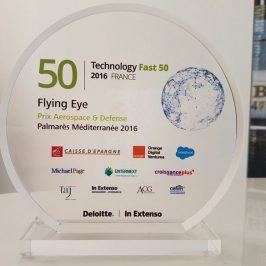 FLYING EYE remporte le prix Aerospace & Defense au Palmarès 2016 du Technology Fast 50 Deloitte