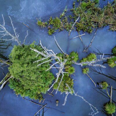 photo aérienne prise avec un Yuneec H520