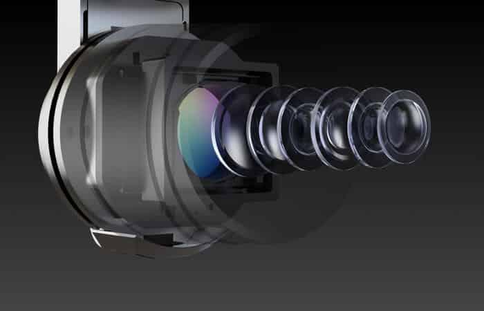 Capteur 2/3 pouces 12MP et ses lentilles
