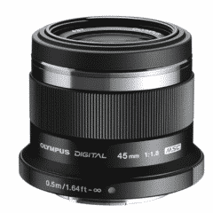 Olympus Objectif Zuiko Digital 45 mm f:1:8