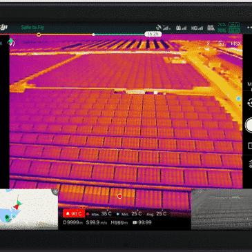 Toutes les caméras thermiques pour drone