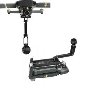 Système fixation caméras 360° pour DJI Mavic Pro