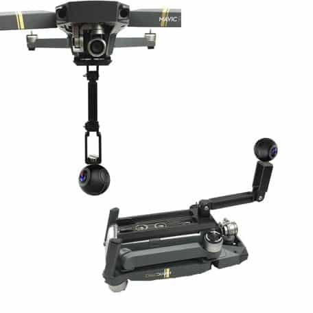 fixation caméra 360 amovible DJI Mavic pro