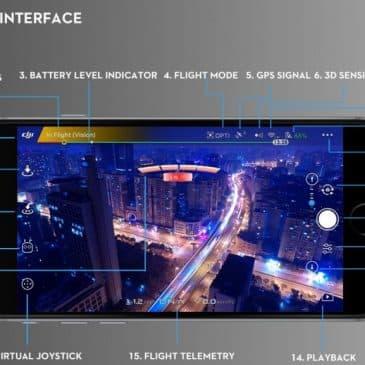 interface DJI GO 4
