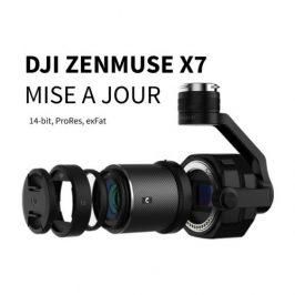 Mise à jour de la Zenmuse X7