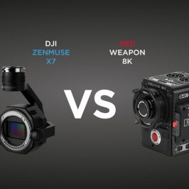 DJI Zenmuse X7 vs RED Weapon 8k