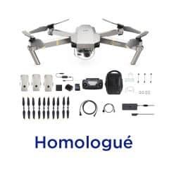 DJI Mavic pro platinum combo fly more homologué – S1-S2-S3 DGAC