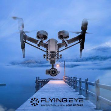 vol intérieur drone
