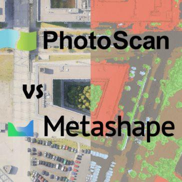 Agisoft Metashape vs Photoscan