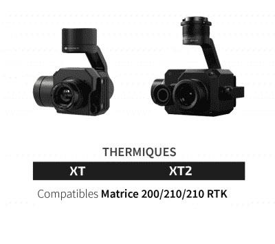 camera thermique dji
