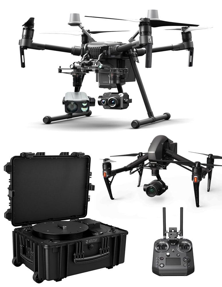 équipement complet drone dji