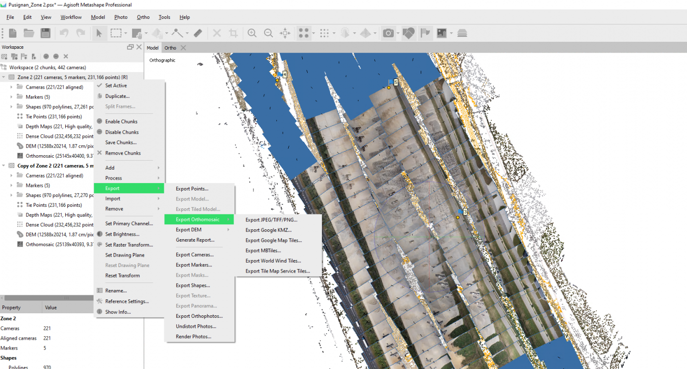 Pix4Dmapper vs Agisoft Metashape