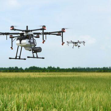 pulvérisation par drone