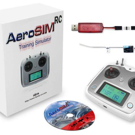 simulateur AeroSim RC avec télécommande