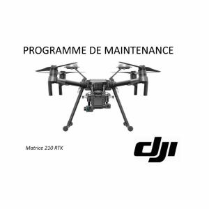 Programme de maintenance DJI 210 RTK