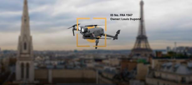 signalement électronique drone