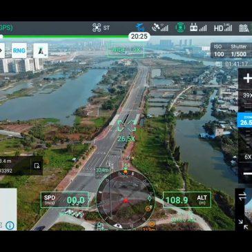 Suivi Automatique du Terrain par Drone