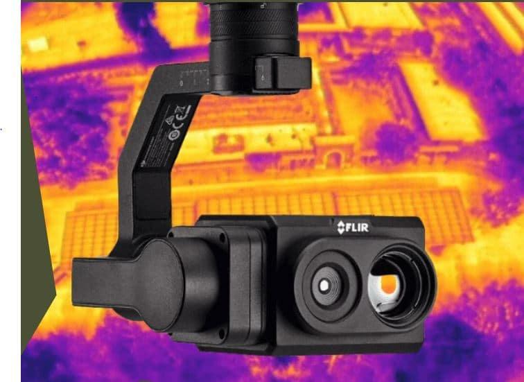Teledyne Flir lance la caméra thermique radiométrique pour drone TZ20-R